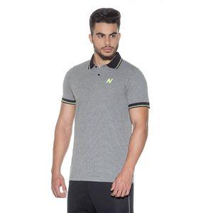 Camisa-Polo-Numer-Cinza