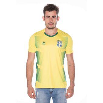 Camisa-Numer-Brasil-PRO-Amarelo-2018